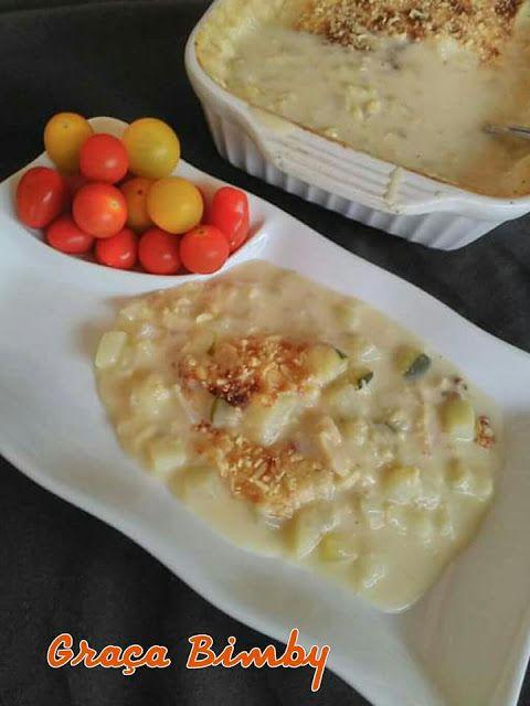 .: Bacalhau com natas – Paelo