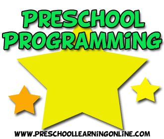 Daily preschool programming guidelines for preschoolers and toddlers learning in the classroom or at home.