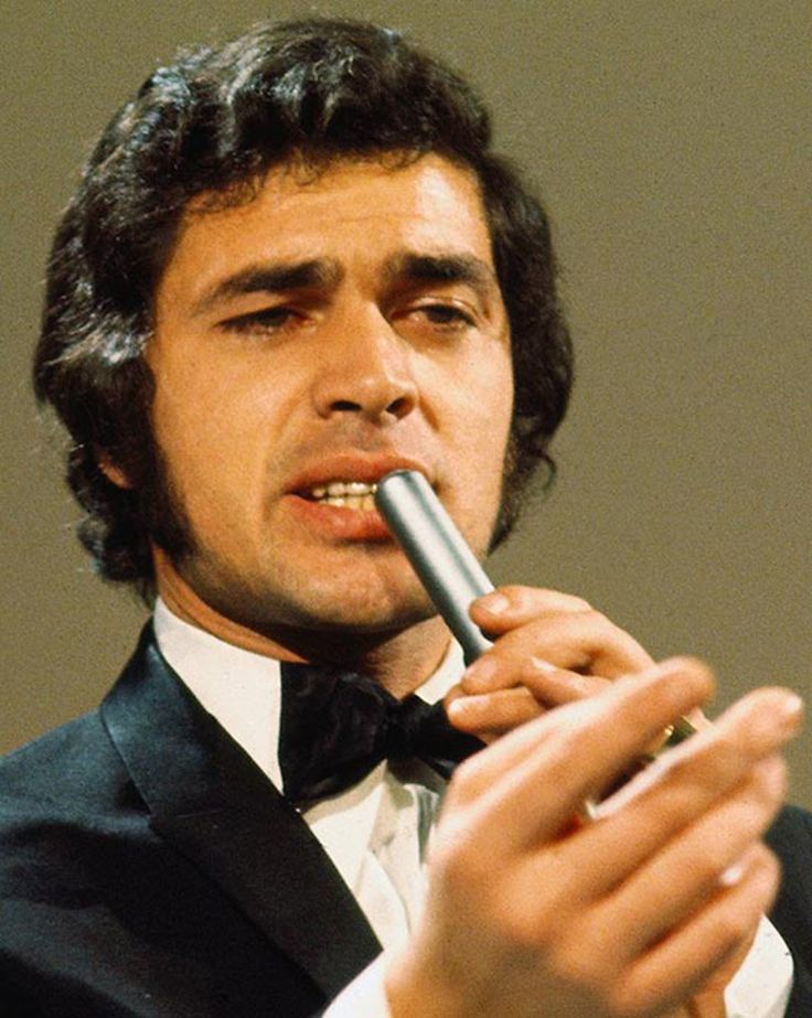 Engelbert Humperdinck, British singer known for his fabulous voice.  His real name was Arnold Dorsey, born May 2, 1936; most popular songs were Release Me and The Last Waltz.