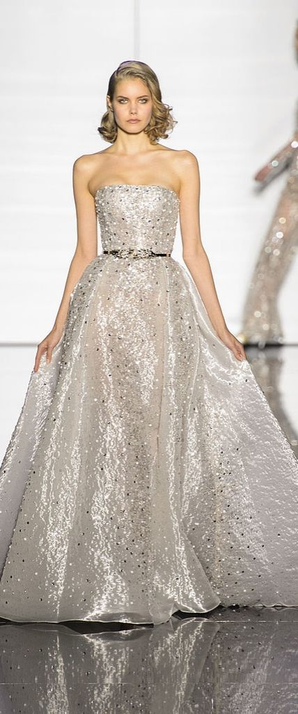 Wedding dress inspiration: Zuhair Murad Haute Couture Spring 2015
