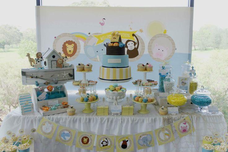 Noah's Ark Dessert Table | Noah's Ark Dessert Table | Arca de Noé