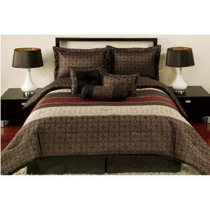 Mainstays Medici 7 Piece Comforter Set