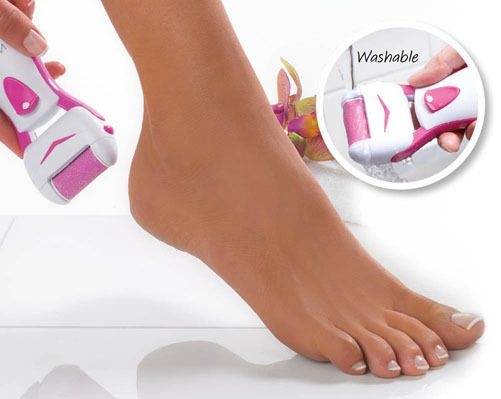 Pedi Express Roller, buff wet or dry skin feet smooth foot care #Klife