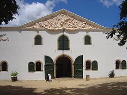 The Cellar at Groot Constantia. This is where I was married