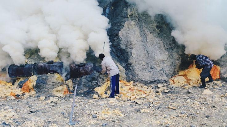 Ijen Crater - Banyuwangi (East Java) Indonesia