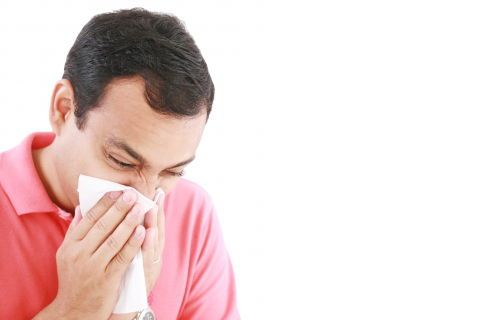 how to stop runny nose in the morning