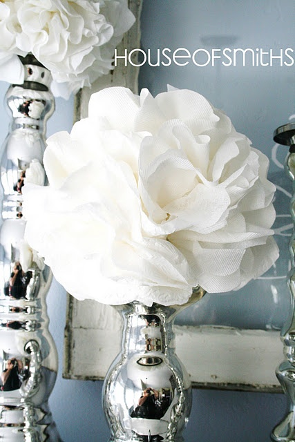 We used to do this with Mom and tissue paper.  Very pretty!