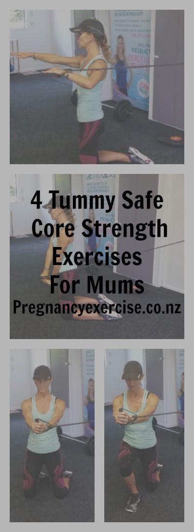 Exercises for Diastasis recti: 4 tummy safe exercises for mums #diastsaisrecti #tummysafe #postnatal