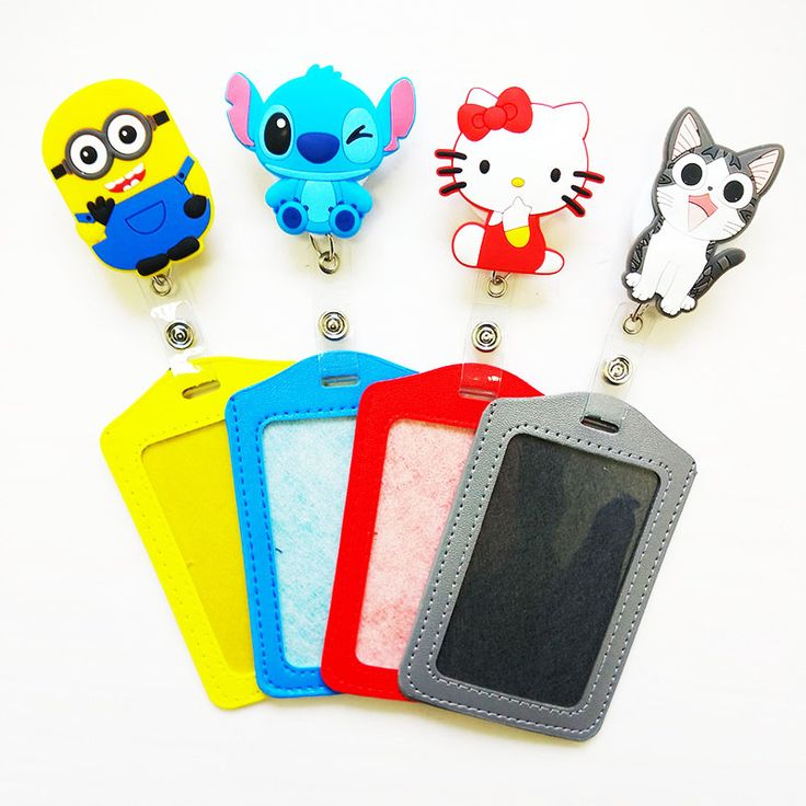 Silicone card case holder Bank Credit Card Holders Card Bus ID Holders Identity Badge with Cartoon Retractable Reel PY012♦️ SMS - F A S H I O N 💢👉🏿 http://www.sms.hr/products/silicone-card-case-holder-bank-credit-card-holders-card-bus-id-holders-identity-badge-with-cartoon-retractable-reel-py012/ US $2.12