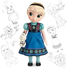 Disney Animators' Collection Elsa Doll. We have the Anna doll from this set and Avi LOVES her. We would enjoy more princesses from the set, especially Elsa (who Avi calls 'Go' because she sings Let it Go.)