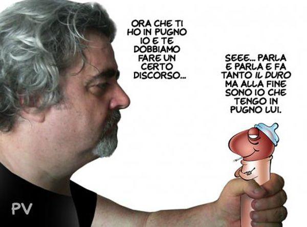 """ITALIAN COMICS - """"Il Mondo in una vignetta"""" di PV - Pietro Vanessi: C'è un Picio, tutto solo, al comando..."""