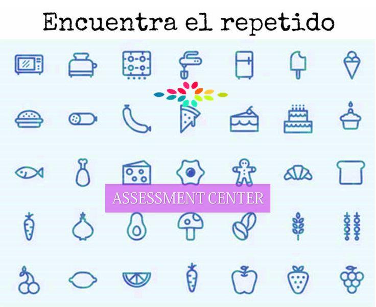 Encuentra el repetido! #JuegosMentales #AssessmentCenter