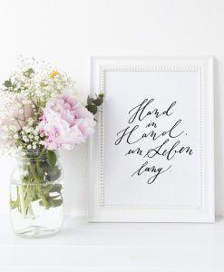 Hand in Hand ein Leben lang Hochzeit Trauspruch