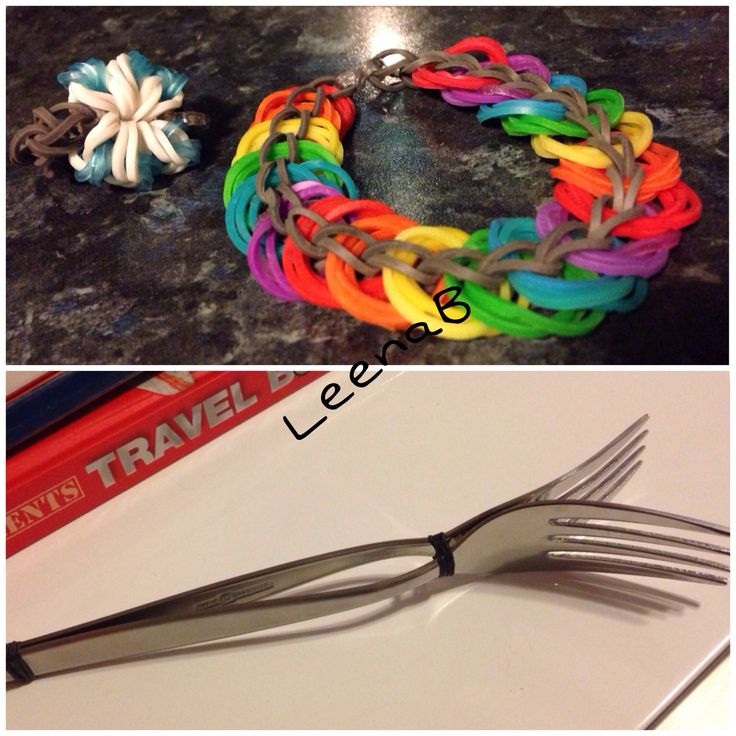 Loom bracelet with fork easy recipes