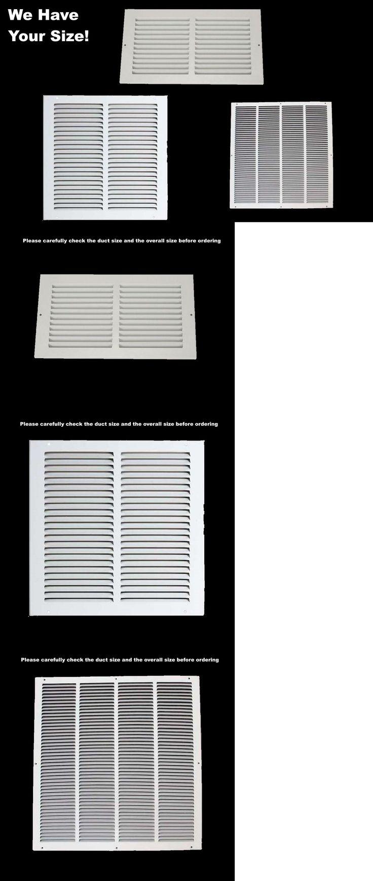 Image result for hvac return duct sizing chart Building