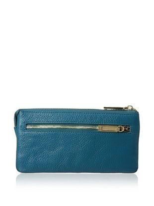66% OFF Zenith Women's Zip Wallet, Teal