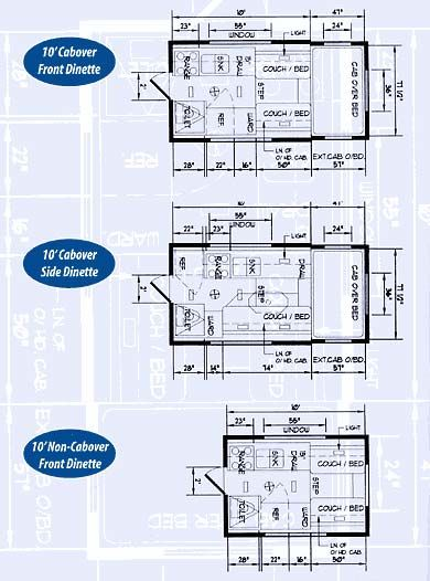 134 best floor plans for campers, trailers, tiny house