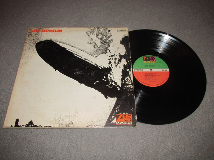 Led Zeppelin SD 8216. This was Led Zeppelin's first album. The album was fully recorded before they even had a record deal. The album was released in the U.S on Jan.12, 1969 on Atlantic Records.