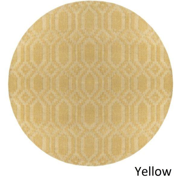 Artistic Weavers Handloomed Hinckley Wool Rug (6' Round)