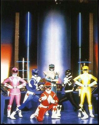 Power rangers I remember that show I miss the original Yellow ranger #scorpion #kurttasche #successwithkurt