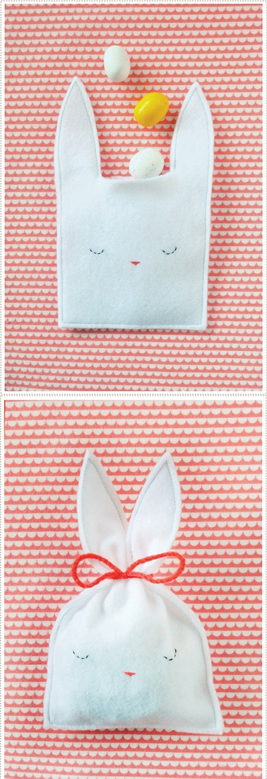 bunny bag to make in sewing class