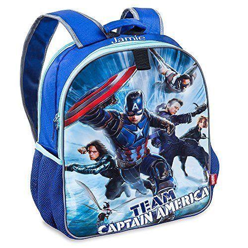 Disney Store Captain America: Civil War Reversible Backpack. #Disney #Store #Captain #America: #Civil #Reversible #Backpack