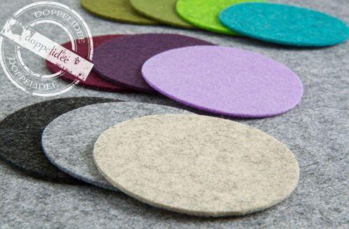 FILZ-Untersetzer-Tassenuntersetzer-Glasuntersetzer-10-15-19-20-cm-34-Farben