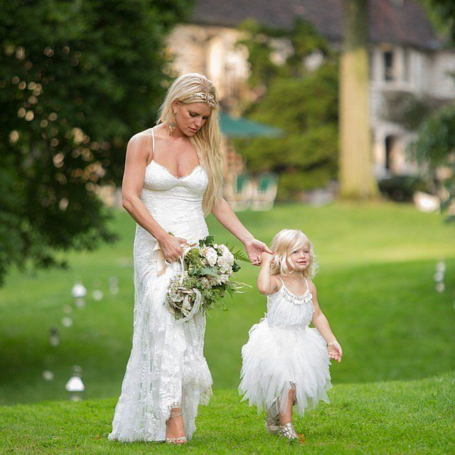 17 bästa idéer om Jessica Simpson Wedding Dress på Pinterest ...