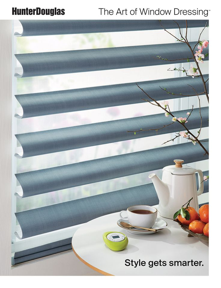 Check out the world of exciting Hunter Douglas window dressing products via this online brochure that shows stylish, versatile looks and innovative solutions for every window in your house.