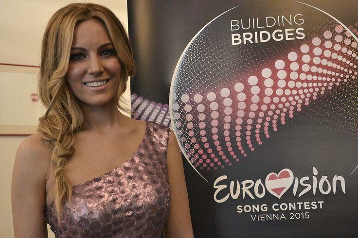 Edurne en el Photocall. http://www.rtve.es/television/eurovision/