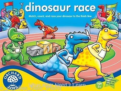 ♥ Orchard Toys - DINOSAUR RACE GAME - NEW - Kids Toy Girls Boys Gift ♥