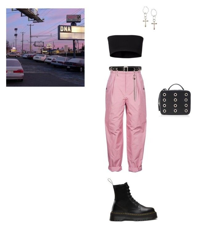 """dna"" by houdinia ❤ liked on Polyvore featuring Bottega Veneta, DuÅ¡an, Dr. Martens, Lucky Brand, Homme Boy and Mark Cross"