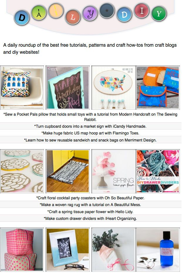 134 best The Daily DIY images on Pinterest   Craft blogs ...