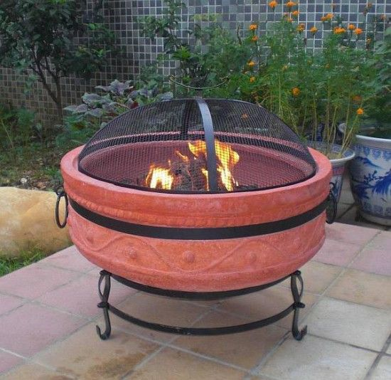 Small Portable Outdoor Fire Pit : Best images about portable gas fire pits on pinterest