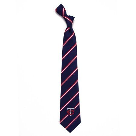 MLB Twins Stripe One Necktie, Blue