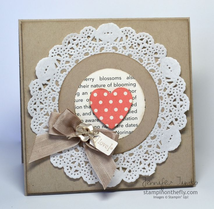 Hearts A Flutter framelit, Tea for Two DSP, Tiny Tags stamp set Club Valentine