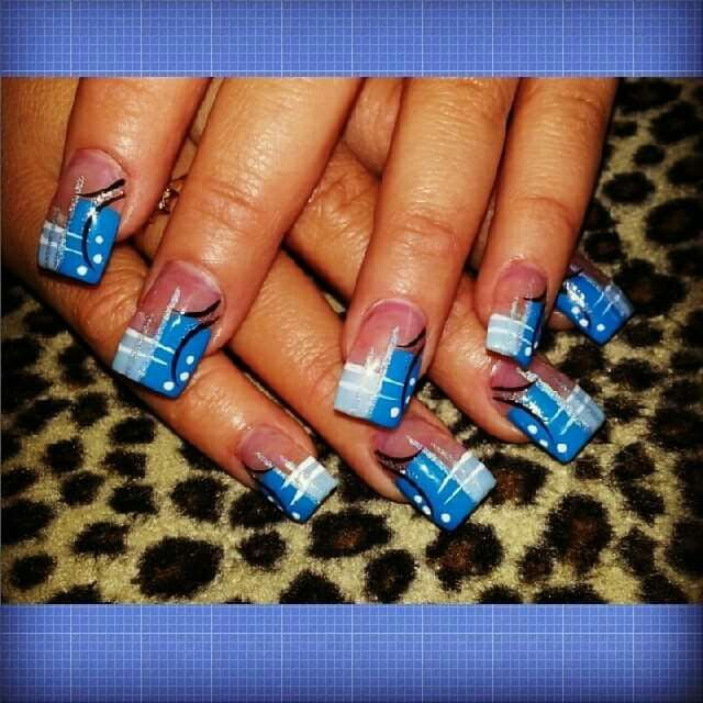 Love what I do. Nails by Rios. Www.gettintipsynails.com 772-878-1020