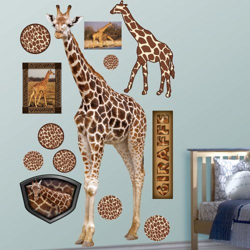 FATHEAD Giraffe Graphic Wall Dcor ** For more information, visit image link. (This is an affiliate link and I receive a commission for the sales)