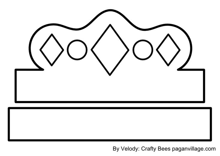 Crown pattern for kids king crown template printable for Kings crown template for kids
