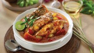Ikan Kuah Asam Kalbar