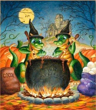 Halloween-Dragon-Bubble, Bubble, Chocolate Trouble by Randal Spangler