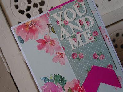 veronicard Valentine's Day card  #love #valentinesday #cardmaking #papercraft
