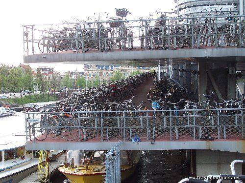 Amsterdam Bike Parking Garage Bicycle Parking Garage