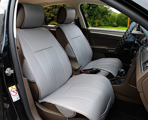 120902 Grey2 Front Car Seat Cover Cushions Leather Like Vinyl Compatible to Honda Accord 20172007 >>> See this great product. (This is an affiliate link) #LeatherCarSeatCovers