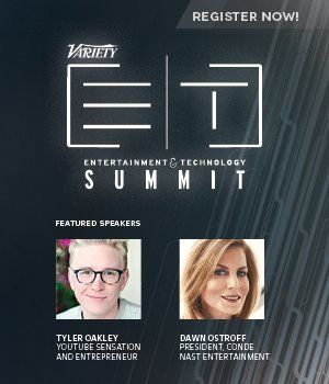 Register now to hear from YouTube star Tyler Oakley at our Ent and Tech NY Summit on May 5