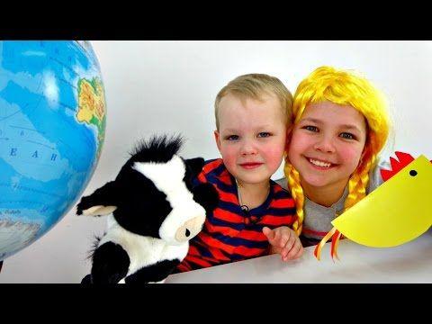 Игры для детей: Викторина. Настя, Вова и Умная коровка - Шпаргалка. Смешные видео - YouTube