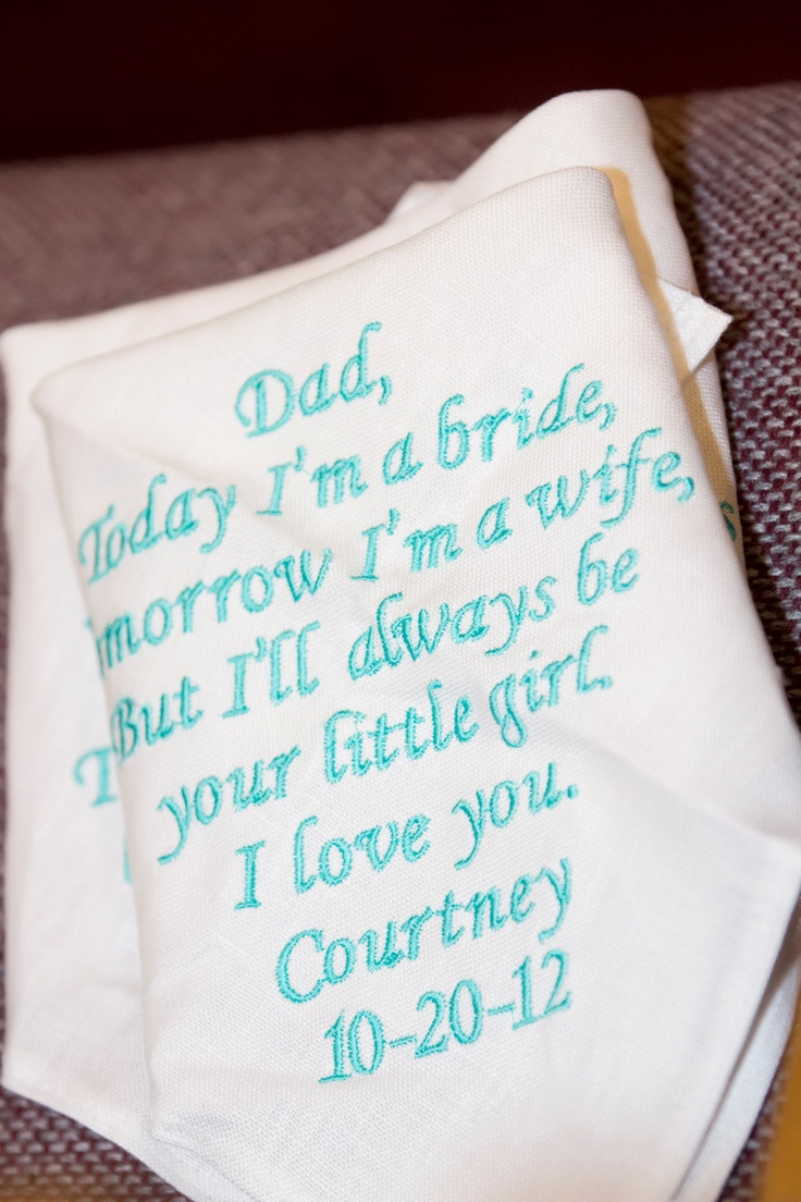 Father of the Bride present