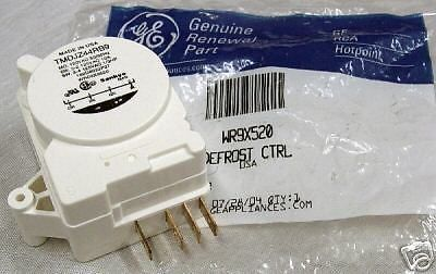 WR9X520 Genuine GE Refrigerator Defrost Timer Clock Control OEM