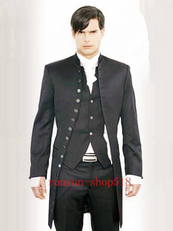 Wedding Dress Men's Formalwear Wedding Morning Suits Groom's Tuxedo Custom NEW #Unbranded #Thepicturestyle