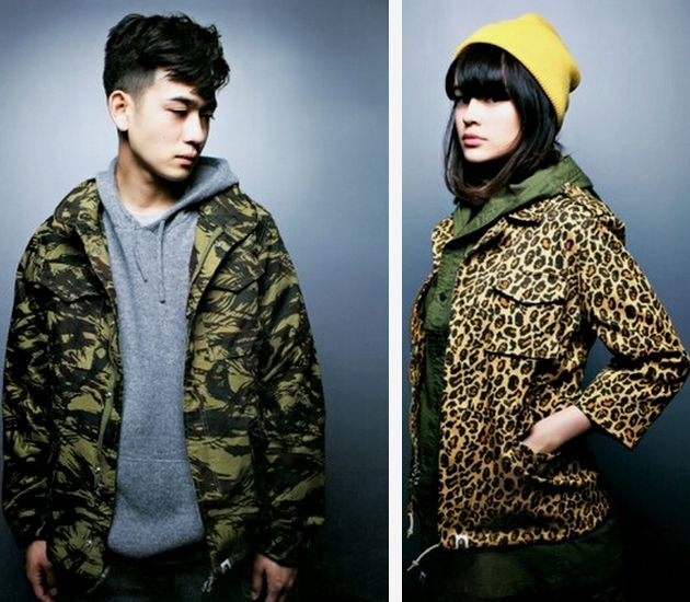 Lookbook A Bathing Ape (Fall/Winter 2013)